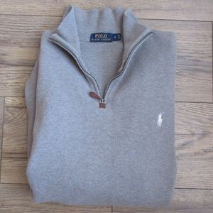 Polo Ralph Lauren 3/4 Zip Sweater